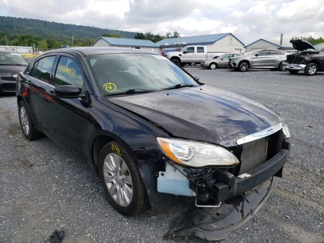 Salvage cars for sale from Copart Grantville, PA: 2014 Chrysler 200 LX