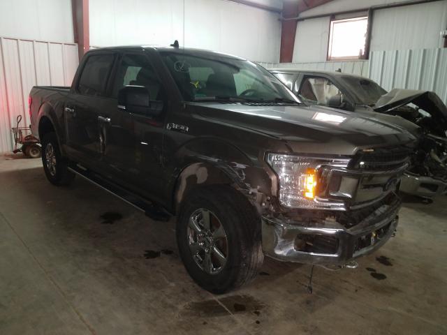 Vehiculos salvage en venta de Copart Mercedes, TX: 2019 Ford F150 Super