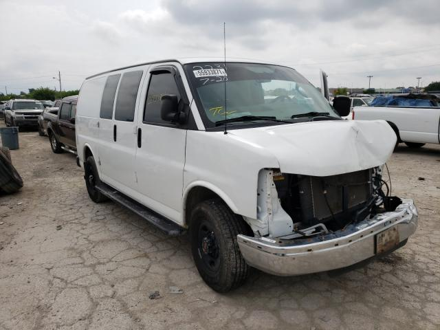 Salvage cars for sale from Copart Indianapolis, IN: 2016 GMC Savana G25
