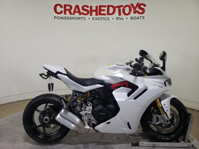 Ducati salvage cars for sale: 2021 Ducati Supersport