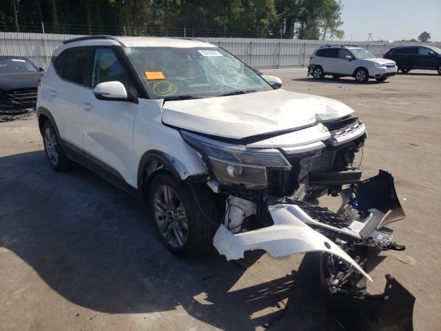 KIA salvage cars for sale: 2022 KIA Seltos S