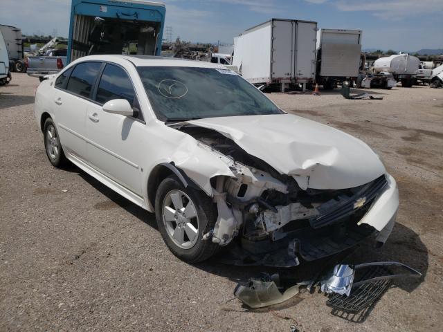 Salvage cars for sale at Tucson, AZ auction: 2009 Chevrolet Impala 1LT