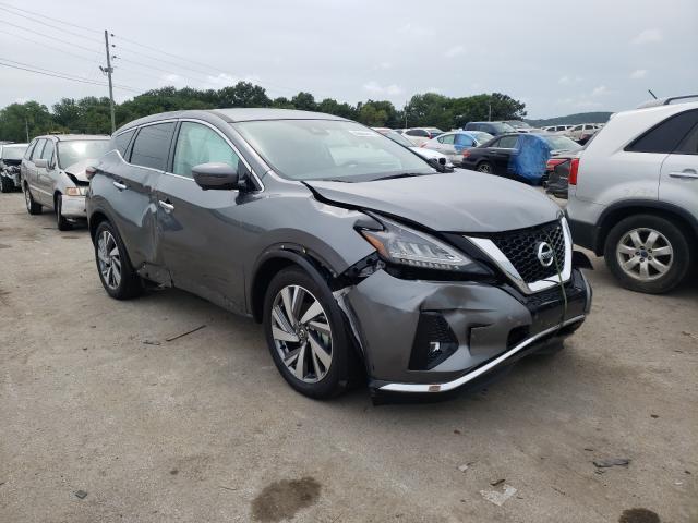 Nissan Vehiculos salvage en venta: 2021 Nissan Murano SL
