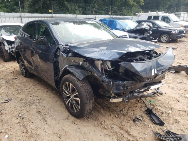 Salvage cars for sale from Copart Austell, GA: 2021 Toyota Venza LE