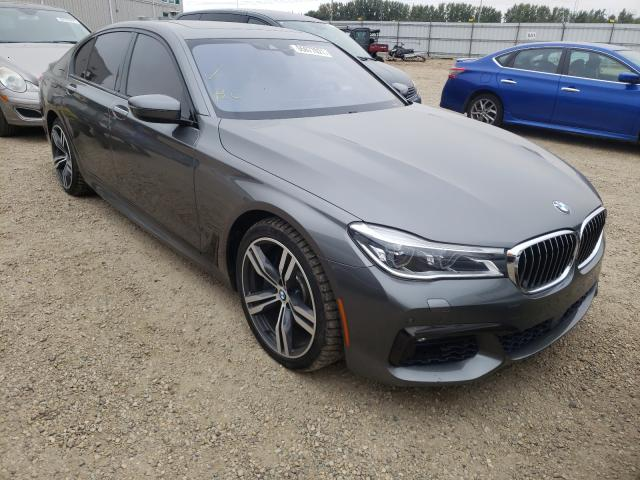 Salvage cars for sale from Copart Nisku, AB: 2016 BMW 750 XI