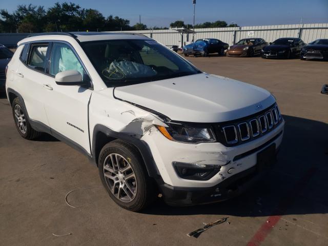 Vehiculos salvage en venta de Copart Wilmer, TX: 2019 Jeep Compass AL