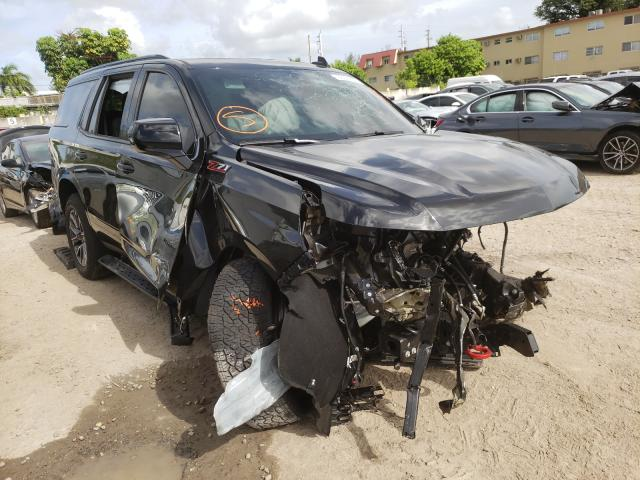 Salvage cars for sale from Copart Opa Locka, FL: 2021 Chevrolet Tahoe K150