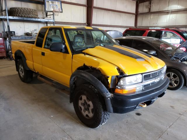 Chevrolet S10 salvage cars for sale: 2003 Chevrolet S10
