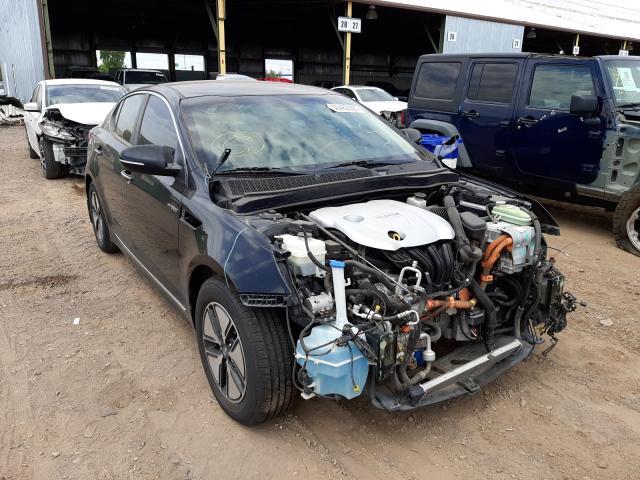 Salvage cars for sale from Copart Phoenix, AZ: 2013 KIA Optima Hybrid
