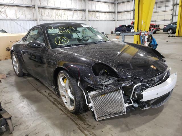 Porsche salvage cars for sale: 2005 Porsche 911 Carrer