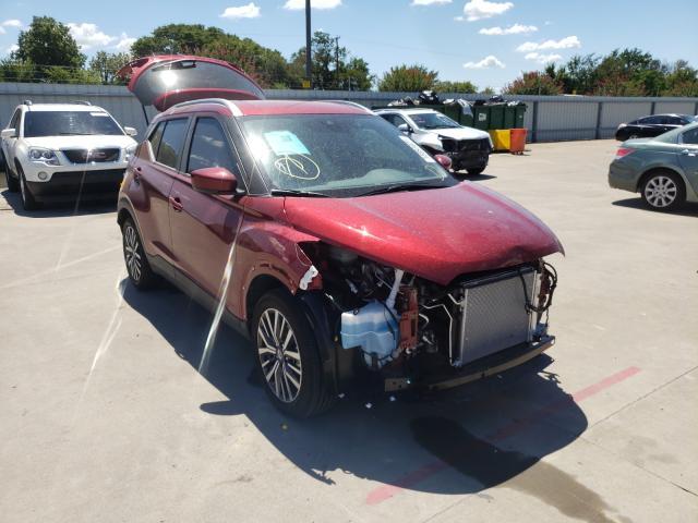 Vehiculos salvage en venta de Copart Wilmer, TX: 2021 Nissan Kicks SV