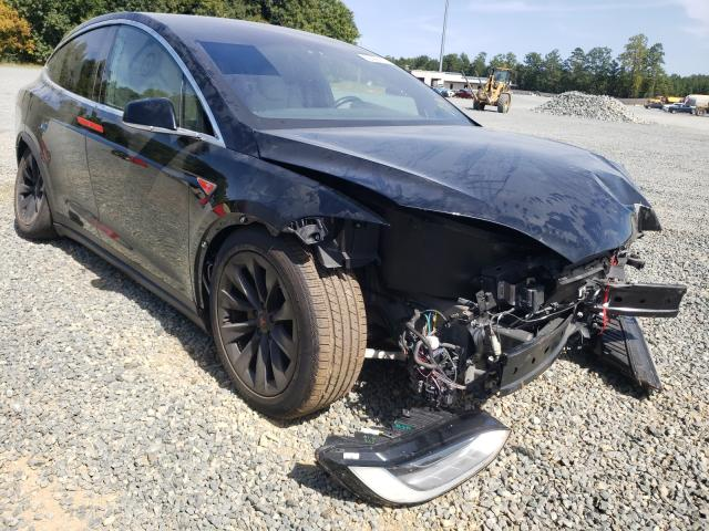 Salvage cars for sale from Copart Concord, NC: 2016 Tesla Model X