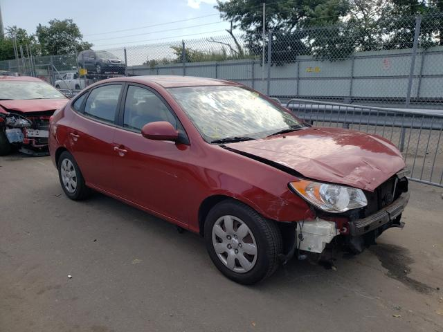 Salvage cars for sale from Copart Brookhaven, NY: 2008 Hyundai Elantra GL