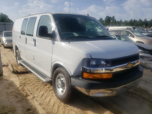 Salvage cars for sale from Copart Gaston, SC: 2019 Chevrolet Express G2