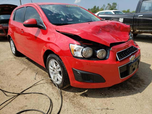 Salvage cars for sale from Copart Pekin, IL: 2015 Chevrolet Sonic LS