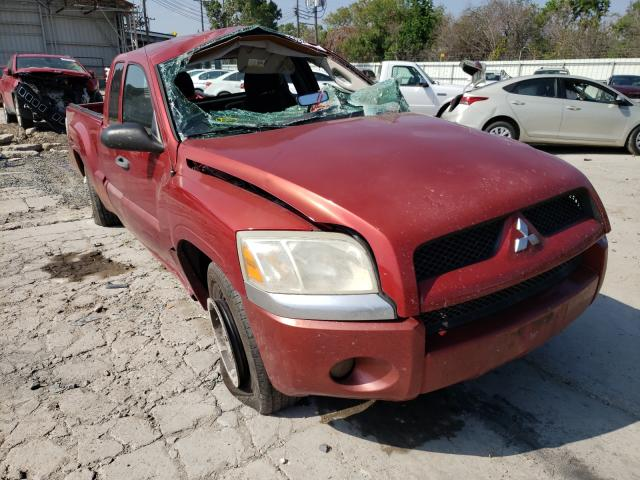 Salvage cars for sale from Copart Corpus Christi, TX: 2008 Mitsubishi Raider LS