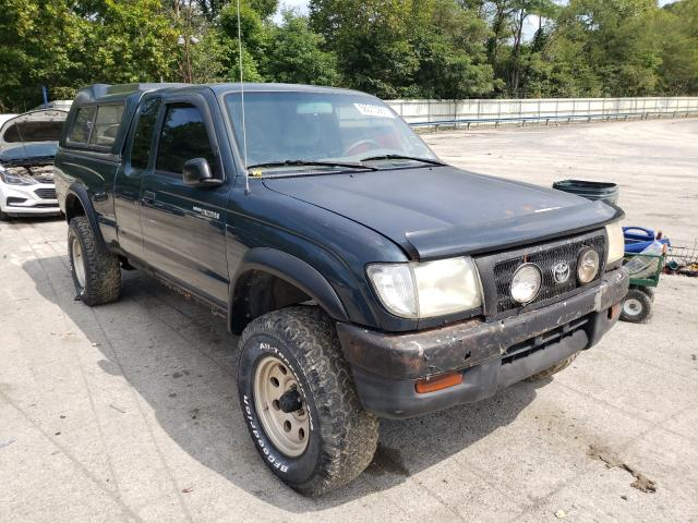 Salvage cars for sale from Copart Ellwood City, PA: 1996 Toyota Tacoma XTR