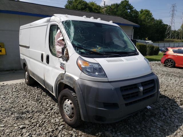 Salvage cars for sale from Copart Mebane, NC: 2018 Dodge RAM Promaster