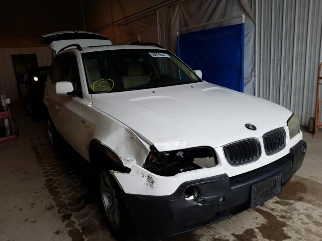 Salvage cars for sale from Copart Glassboro, NJ: 2005 BMW X3 3.0I