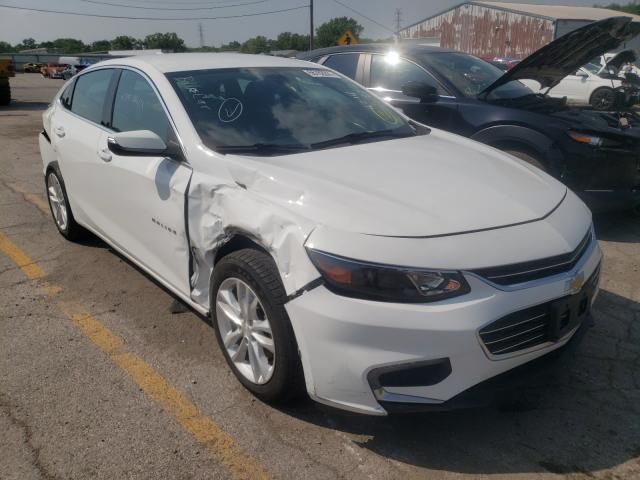 Salvage cars for sale from Copart Chicago Heights, IL: 2017 Chevrolet Malibu LT