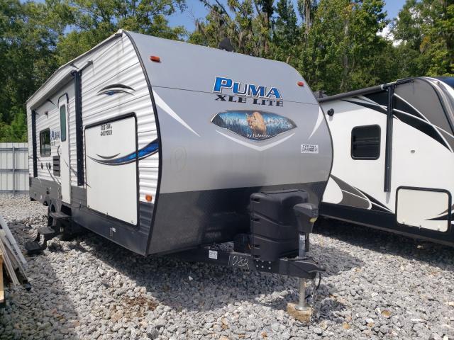 Puma RV salvage cars for sale: 2019 Puma RV