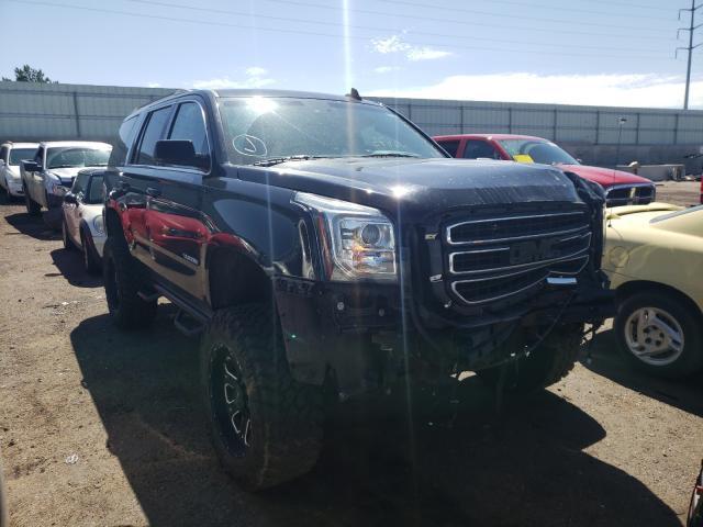 Salvage cars for sale at Albuquerque, NM auction: 2018 GMC Yukon SLT