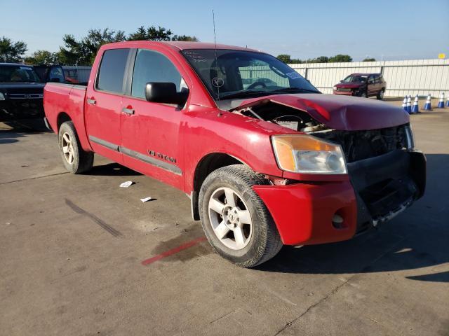 Vehiculos salvage en venta de Copart Wilmer, TX: 2010 Nissan Titan XE