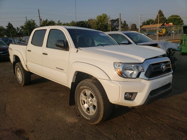 Salvage cars for sale from Copart Denver, CO: 2015 Toyota Tacoma DOU