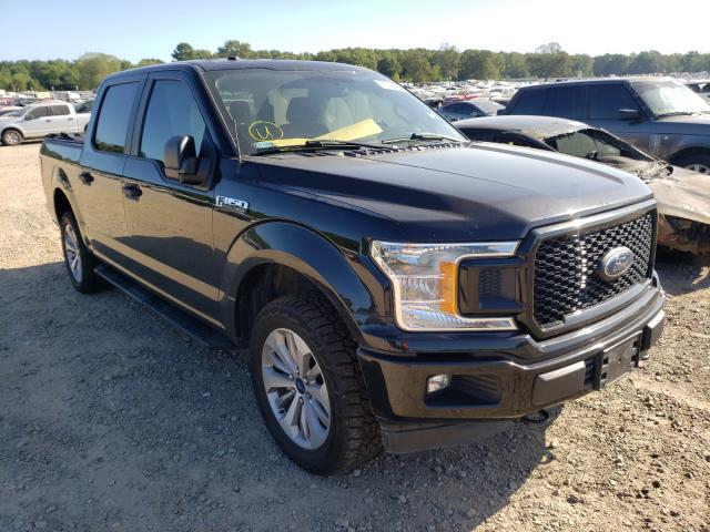 Ford salvage cars for sale: 2018 Ford F150 Super