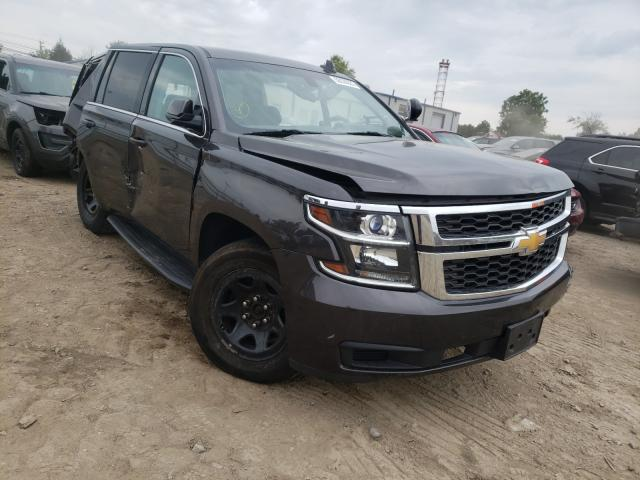 Salvage cars for sale at Finksburg, MD auction: 2017 Chevrolet Tahoe Police