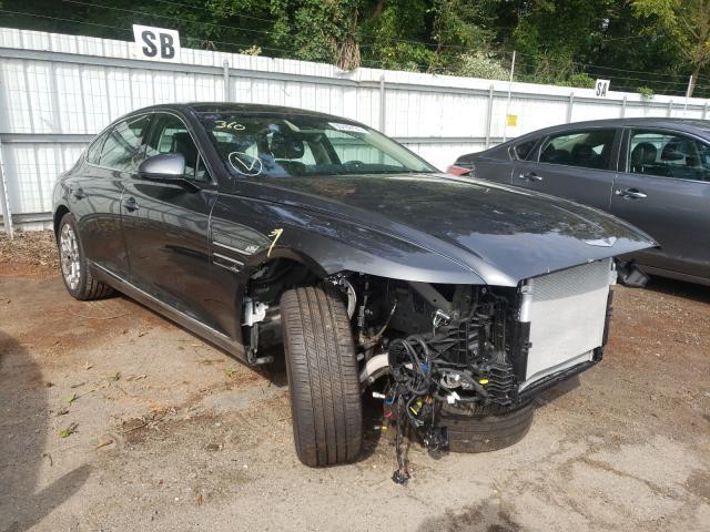 Genesis salvage cars for sale: 2021 Genesis G80 Base