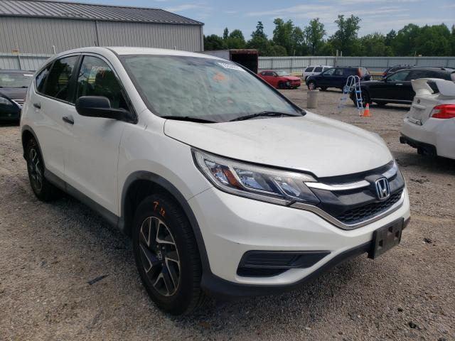 Salvage cars for sale from Copart Chatham, VA: 2016 Honda CR-V SE