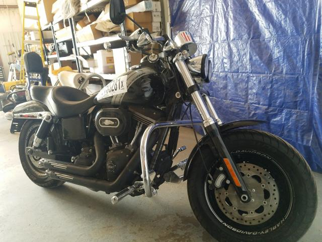 Salvage cars for sale from Copart Amarillo, TX: 2014 Harley-Davidson Fxdf Dyna