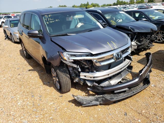 Honda Pilot EXL salvage cars for sale: 2020 Honda Pilot EXL