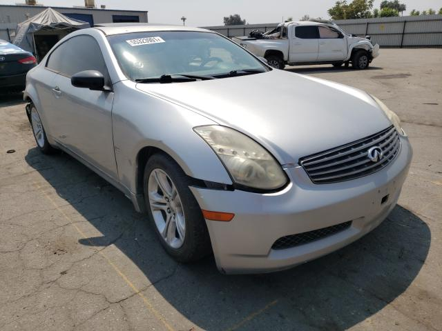 Salvage cars for sale from Copart Bakersfield, CA: 2004 Infiniti G35