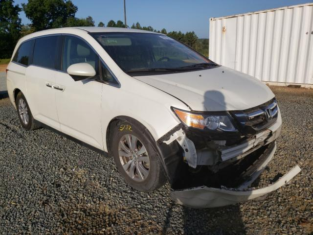 Salvage cars for sale from Copart Concord, NC: 2015 Honda Odyssey EX