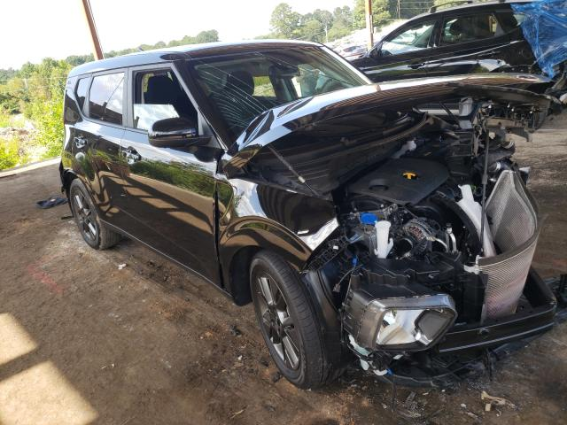 Salvage cars for sale from Copart Fairburn, GA: 2021 KIA Soul EX