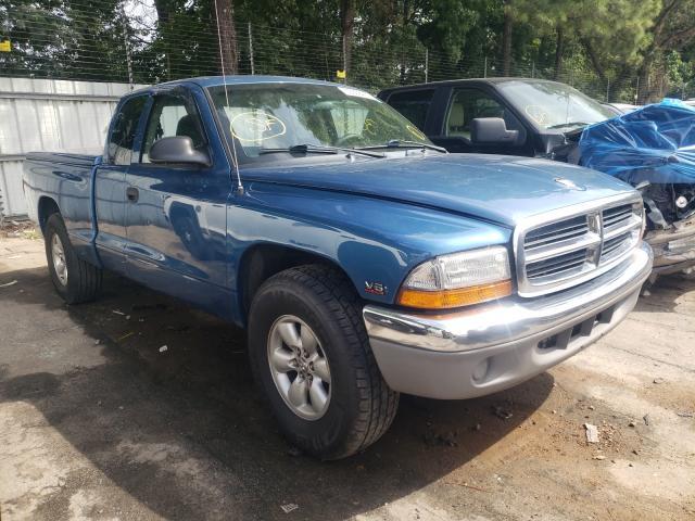 Salvage cars for sale from Copart Austell, GA: 2003 Dodge Dakota SLT