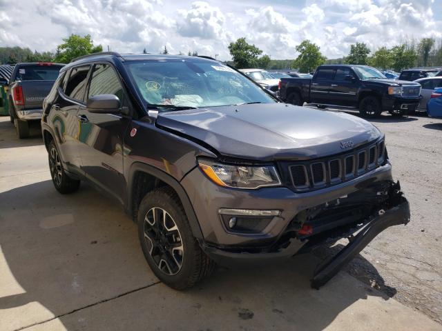 Vehiculos salvage en venta de Copart Angola, NY: 2020 Jeep Compass TR