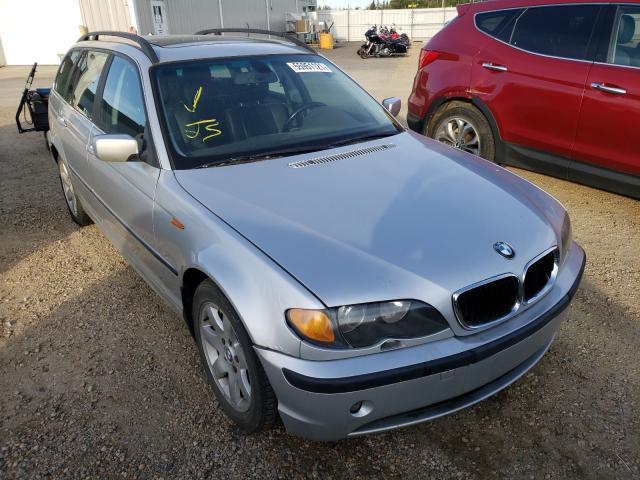 Salvage cars for sale from Copart Nisku, AB: 2003 BMW 325 IT