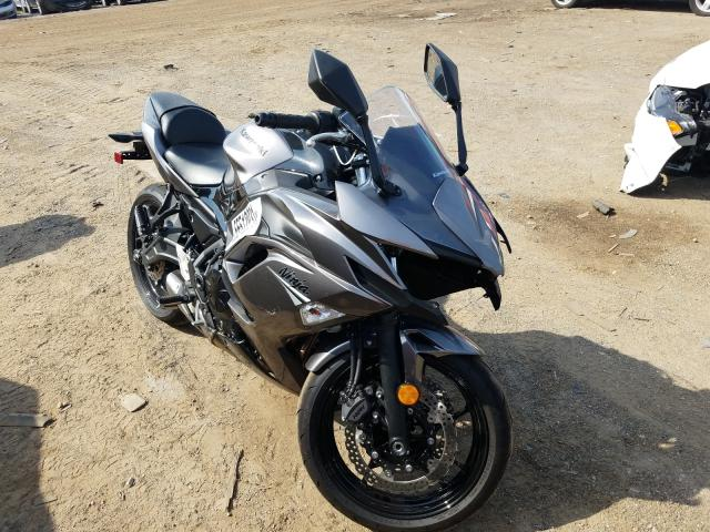 Kawasaki EX650 N salvage cars for sale: 2021 Kawasaki EX650 N