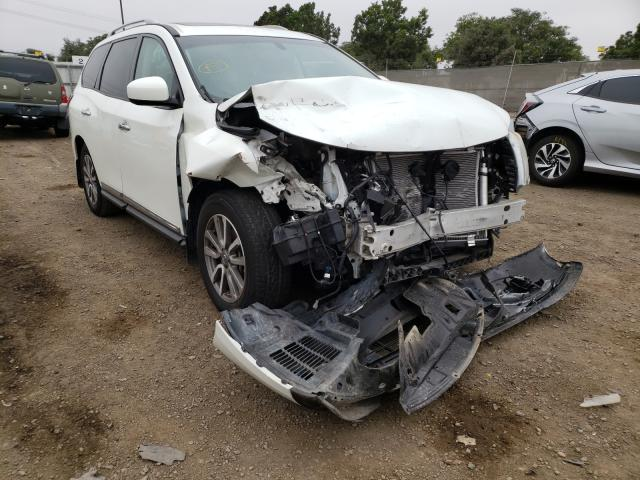 Salvage cars for sale from Copart San Diego, CA: 2015 Nissan Pathfinder