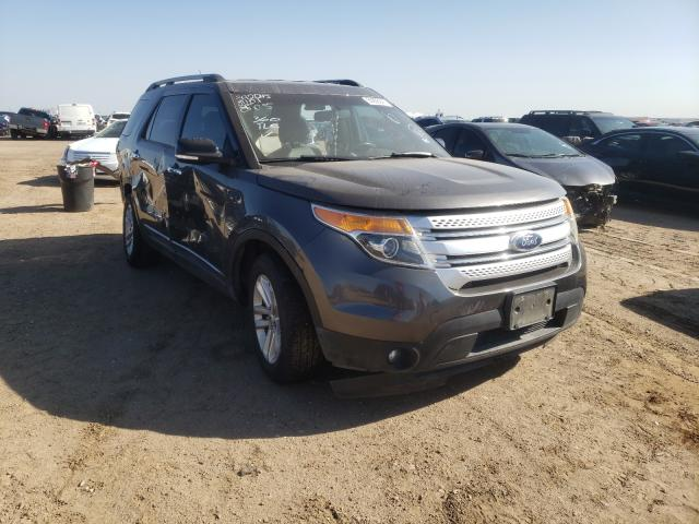 Salvage cars for sale from Copart Amarillo, TX: 2015 Ford Explorer X