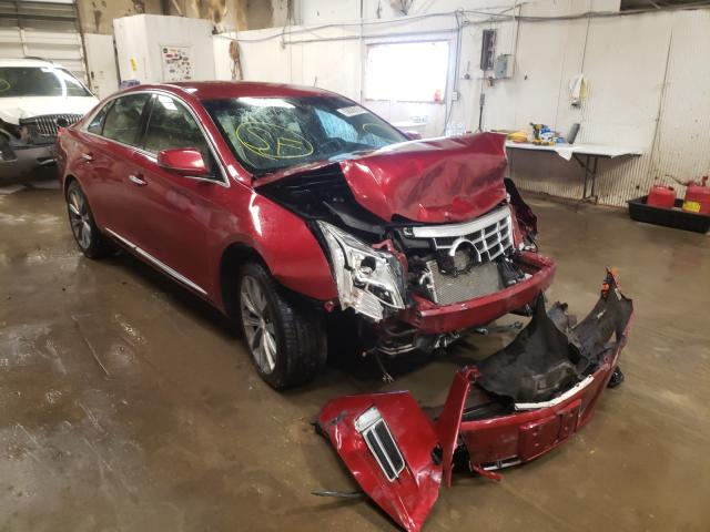 Salvage cars for sale from Copart Casper, WY: 2013 Cadillac XTS Luxury