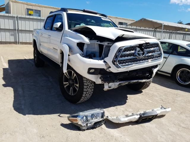 Salvage cars for sale from Copart Kapolei, HI: 2017 Toyota Tacoma DOU