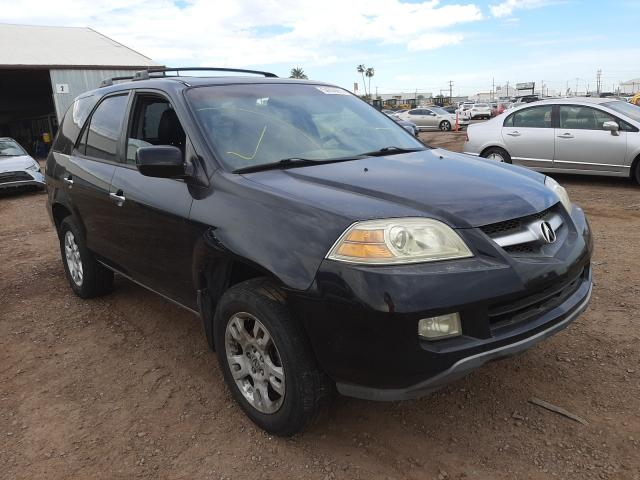 Salvage cars for sale from Copart Phoenix, AZ: 2005 Acura MDX Touring