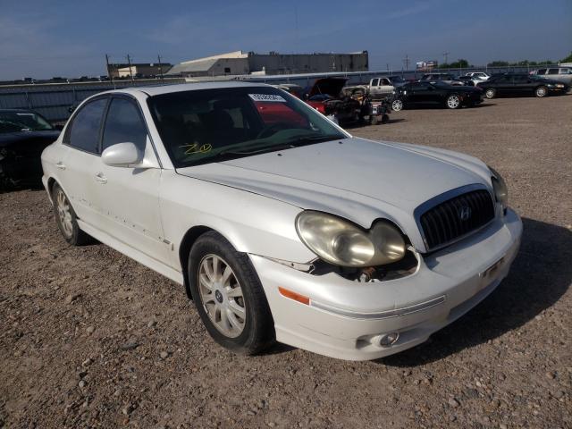 Vehiculos salvage en venta de Copart Mercedes, TX: 2003 Hyundai Sonata GLS