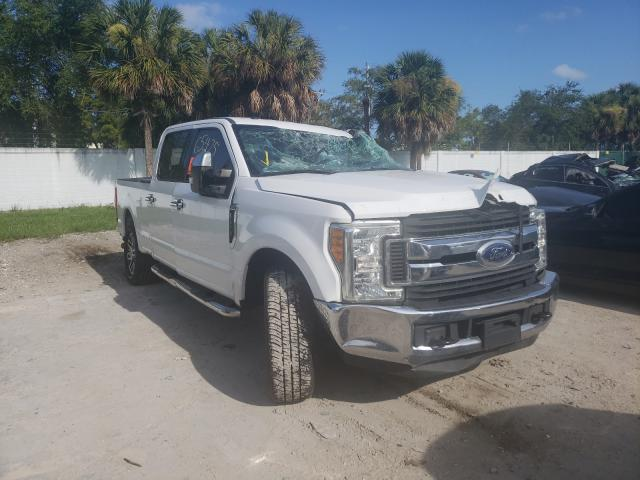 Salvage cars for sale from Copart West Palm Beach, FL: 2017 Ford F250 Super