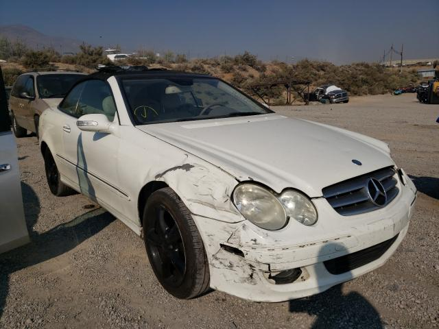 Salvage cars for sale at Reno, NV auction: 2008 Mercedes-Benz CLK 350