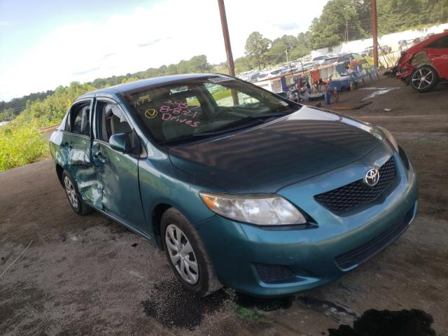 Salvage cars for sale from Copart Fairburn, GA: 2010 Toyota Corolla BA